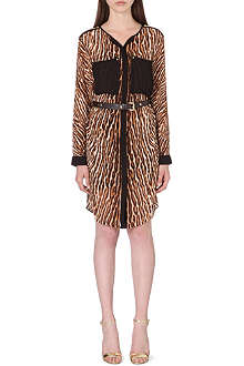 MICHAEL KORS Leopard print chiffon dress