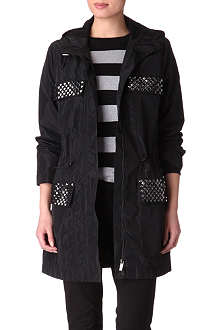 MICHAEL KORS Studded parka jacket