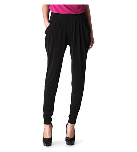 MICHAEL MICHAEL KORS Jersey harem trousers (Black
