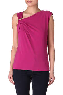 MICHAEL KORS Asymmetric logo top