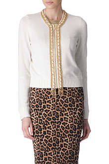 MICHAEL KORS Knitted chain cardigan