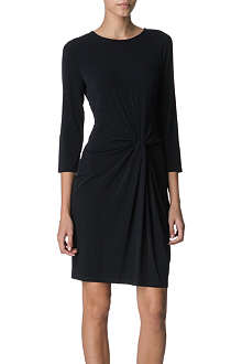 MICHAEL KORS Jersey knot-front dress