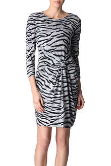 MICHAEL KORS Zebra-print dress