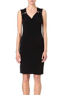 MICHAEL KORS V-neck zip dress