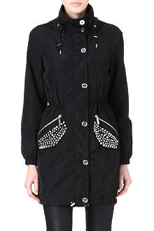MICHAEL KORS Stud pocket anorak