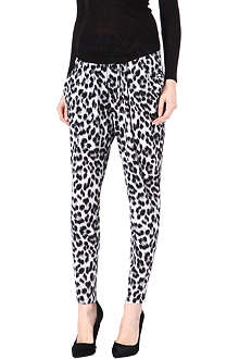 MICHAEL KORS Cheetah print hareem trousers