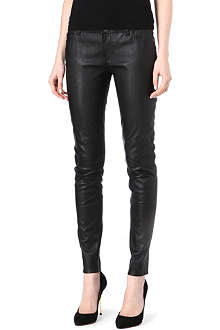 MICHAEL KORS Leather trousers