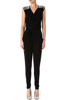 MICHAEL KORS Rhinestone-shoulder jumpsuit