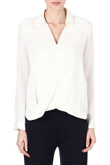 MICHAEL KORS Rakhi silk blouse