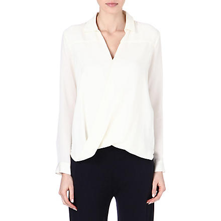 MICHAEL KORS Rakhi silk blouse (Cream