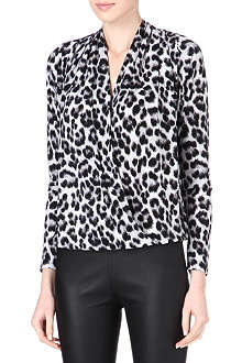 MICHAEL KORS Cheetah blouse