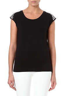 MICHAEL KORS Crystal embellished top