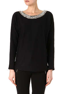 MICHAEL KORS Embellished knitted jumper