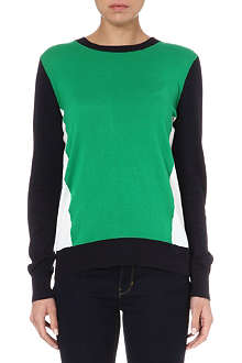 MICHAEL KORS Colour-block knit jumper