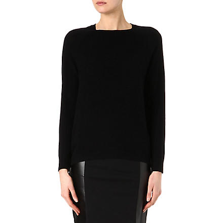 MICHAEL KORS Metallic-patch jumper (Black