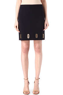 MICHAEL KORS Eyelet-detail pencil skirt