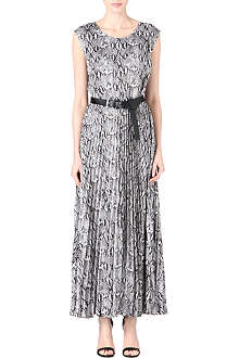 MICHAEL KORS Pleated skirt maxi dress