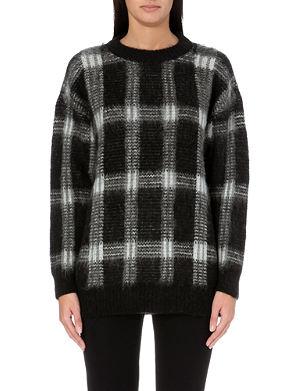 MICHAEL MICHAEL KORS Tartan knitted jumper