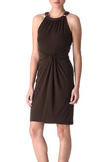 MICHAEL KORS Buckle jersey dress