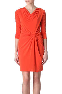 MICHAEL KORS Cowl twist dress