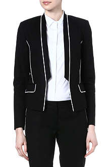 MICHAEL KORS Contrast-piping blazer