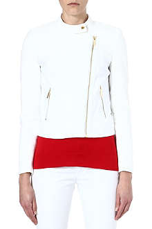MICHAEL KORS Cotton biker jacket