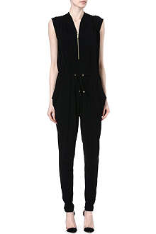 MICHAEL KORS Draped jersey jumpsuit