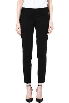 MICHAEL KORS Contrast-piping trousers
