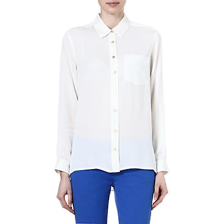 MICHAEL KORS Silk shirt (Cream