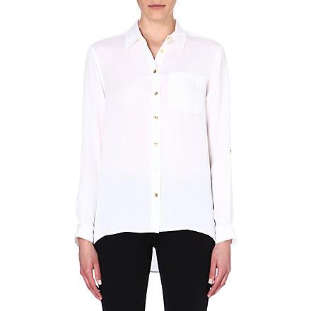 MICHAEL MICHAEL KORS Silk button shirt (White