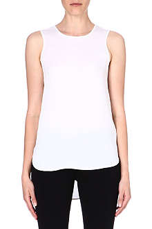 MICHAEL MICHAEL KORS Silk button tank top