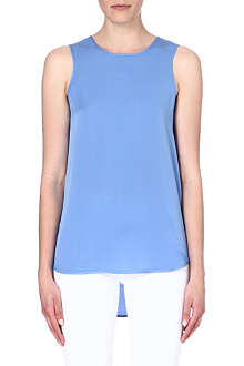 MICHAEL KORS Silk button tank top