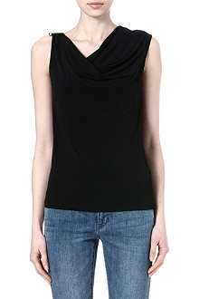 MICHAEL KORS Draped cowl top
