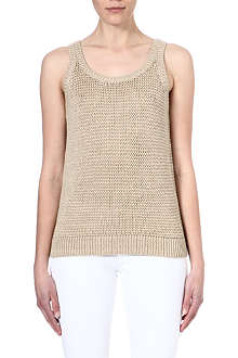 MICHAEL KORS Knit sleeveless top