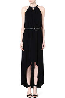 MICHAEL KORS Halterneck jersey dress