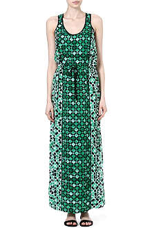 MICHAEL KORS Lattice maxi dress