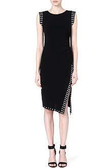 MICHAEL KORS Studded jersey dress