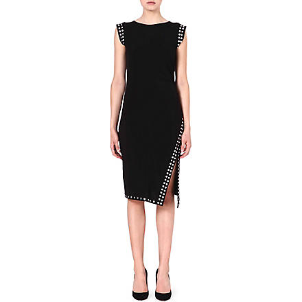 MICHAEL KORS Studded split dress (Black