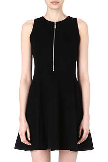 MICHAEL KORS Zip-detail jersey dress