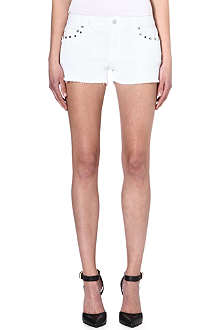 MICHAEL KORS Cut-off cotton shorts