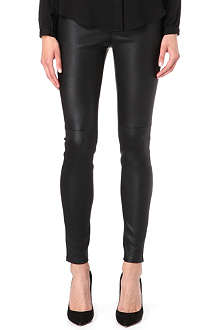 MICHAEL KORS Leather leggings