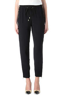 MICHAEL KORS Crepe jogging bottoms