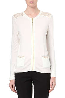 MICHAEL KORS Studded-shoulder cardigan
