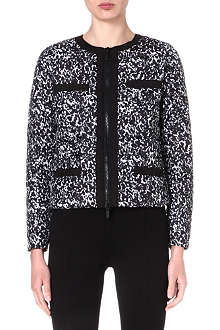 MICHAEL KORS Printed quilted jacket