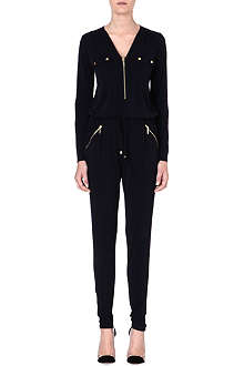 MICHAEL KORS Slim-fit jersey jumpsuit