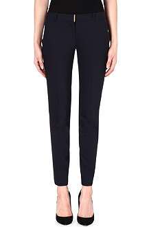MICHAEL KORS Beverly slim-fit tapered trousers