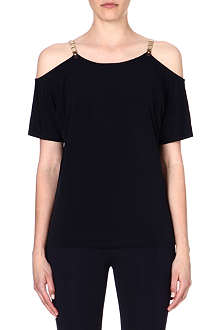 MICHAEL KORS Chain strap shoulder top