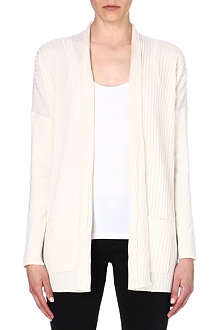 MICHAEL KORS Knitted rib detail cardigan