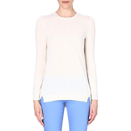 MICHAEL KORS Wool-blend jumper (Ecru