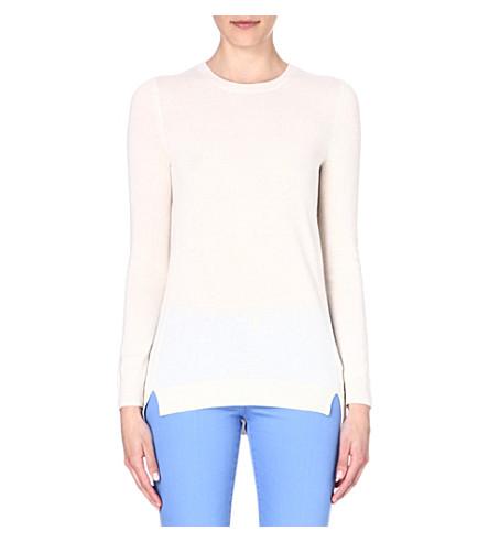 MICHAEL MICHAEL KORS Wool-blend jumper (Ecru